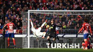 Gol de Casemiro en el derbi madrileño: AFP.