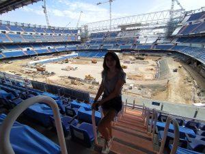 El Real Madrid ha aprovechado la pandemia para adelantar las obras del Bernabéu: Foto cedida por Maribel de Jesús.