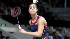 """""""Puedo porque pienso que puedo"""" es el lema de Carolina Marín: EFE."""