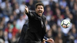 Diego Pablo Simeone durante el derbi madrileño: As.