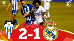 En el 'Alcoyanazo' hubo muchos errores por parte de la defensa del Real Madrid: You Tube.
