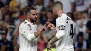 Dani Carvajal y Sergio Ramos son los jefes de la defensa del Real Madrid: Getty Images.