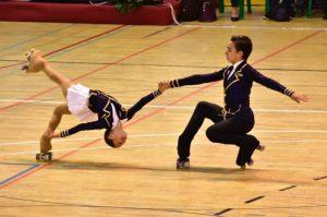 India Rojo y Héctor Díez son una pareja de danza en patinaje artístico sobre ruedas: Haro Digital.