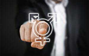 Símbolo de la intersexualidad: RF.