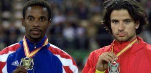Iván Pedroso fue el máxima rival de Yago Lamela durante su carrera deportiva: Agencias.