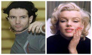 Yago Lamela (ABC) y Marilyn Monroe (Archivo Agencias).