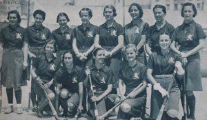 La primera selección española de hockey de la historia: Crónica.