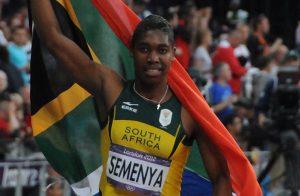 Semenya ganó medalla en Londres 2012 después del polémico estudio de sexo: Tab59-Wikipedia.