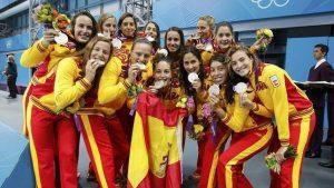 Las Guerreras del Agua, entrenadas por Miki Oca, subcampeonas olímpicas en Londres 2012: AFP.