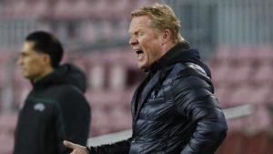 Ronald Koeman, enfadado por la derrota frente a la Juventus: Reuters.