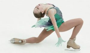 Alexandra Trusova con el programa corto de la temporada 2020/21: Agencias.