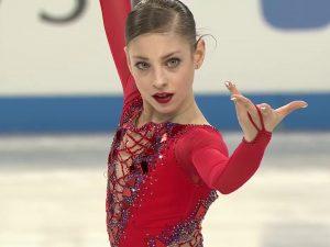 Alena Kostornaia en el Mundial Júnior 2018: You Tube.