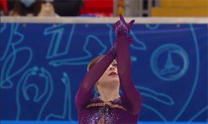 Alena Kostornaia en el programa libre de la temporada 2020-21: You Tube.