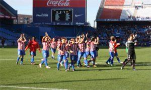 Jugadoras del Atlético de Madrid en el Vicente Calderón durante la temporada 2016/17: Ravelo.