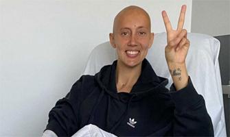 Virginia Torrecilla celebra el fin de su quimioterapia: Instagram.