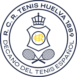 Escudo del R.C.R. Tenis Huelva.
