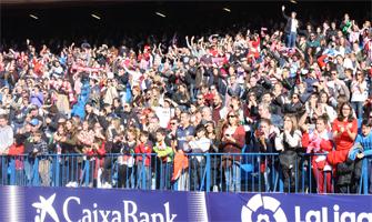 El Vicente Calderón cuando tener público en los estadios era lo más normal del mundo: Ravelo.