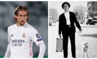 Luka Modric (Instagram) y Paco Martínez Soria (El Mundo).
