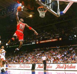"""Michael Jordan, """"Air Jordan"""": Agencias."""