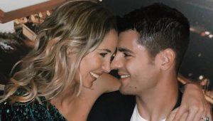 Alice Campello y Álvaro Morata son muy dados a demostrar su amor a través de las redes sociales: Instagram.