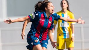 Ivana Andrés con el Levante: Agencias.