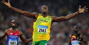 Usain Bolt en Pekín 2008: EFE.