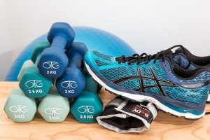 Material de fitness: RF.