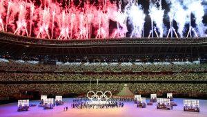 Ceremonia de inauguración de Tokio 2020: Reuters.