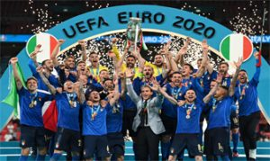 Italia, campeona de la Eurocopa 2020: AFP.