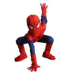 Niño disfrazado del superhéore Spiderman: Partyland.