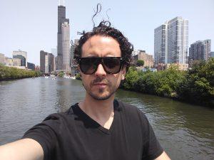 Alfonso Muñoz desde Chicago: Foto cedida por The Golden Arrow.