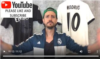 Alfonso Muñoz anunciando en Instagram Stories uno de sus vídeos de You Tube: Foto cedida por The Golden Arrow.