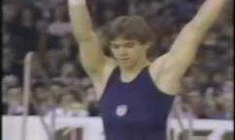 Kurt Thomas en el ejercicio de suelo en el Mundial 1978: YouTube.