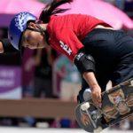 Sakura Yosozumi, campeona olímpica en Tokio 2020: AP.