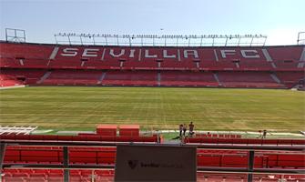 El estadio Ramón Sánchez-Pizjuán por dentro: Ravelo.